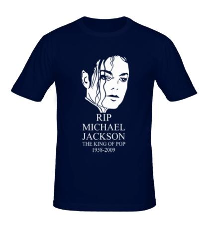 Мужская футболка Michael Jackson RIP