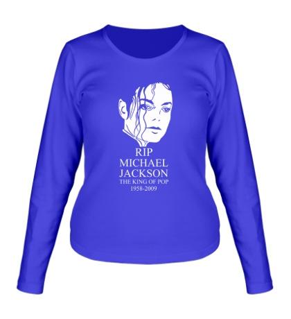 Женский лонгслив Michael Jackson RIP