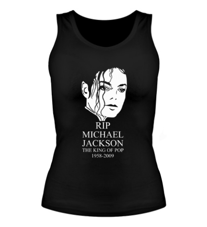 Женская майка Michael Jackson RIP