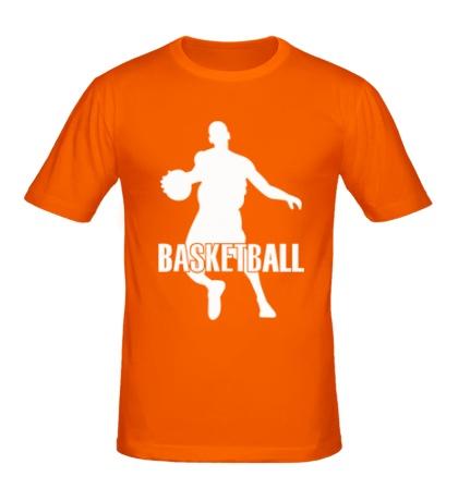 Мужская футболка Basketball Player