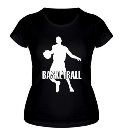 Женская футболка Basketball Player
