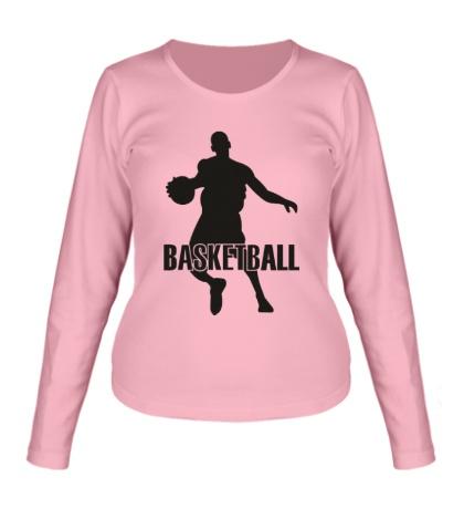 Женский лонгслив Basketball Player