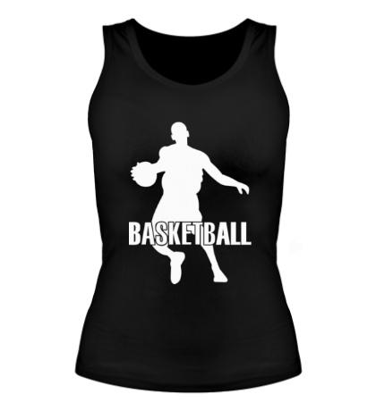 Женская майка Basketball Player