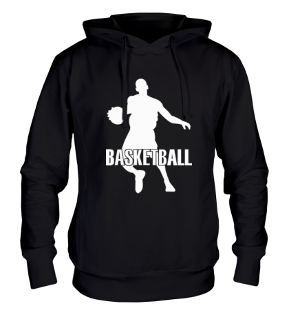 Толстовка с капюшоном Basketball Player