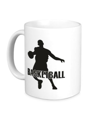 Керамическая кружка Basketball Player