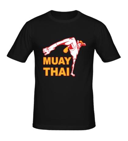 Мужская футболка Muay Thai Low Kick