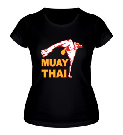 Женская футболка Muay Thai Low Kick