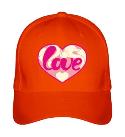 Бейсболка Надпись LOVE