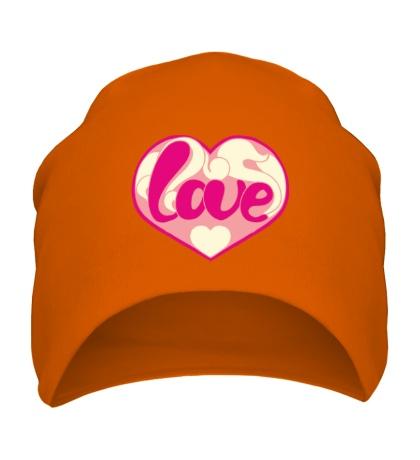 Шапка Надпись LOVE