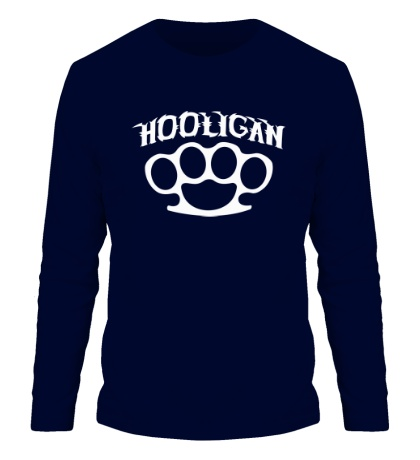 Мужской лонгслив Street Hooligan