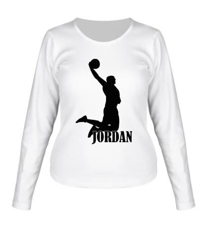 Женский лонгслив Michael Jordan