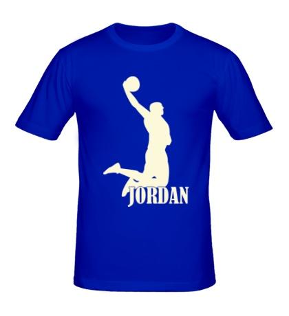 Мужская футболка Michael Jordan Glow