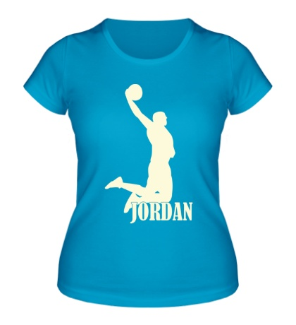 Женская футболка Michael Jordan Glow