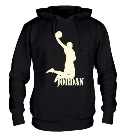 Толстовка с капюшоном Michael Jordan Glow