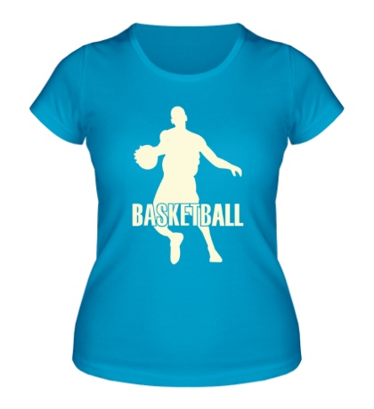 Женская футболка Basketball Player Glow