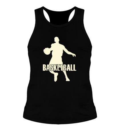 Мужская борцовка Basketball Player Glow