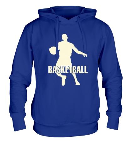 Толстовка с капюшоном Basketball Player Glow