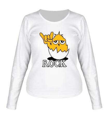 Женский лонгслив Chiken Rock