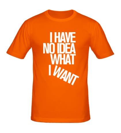 Мужская футболка No Idea