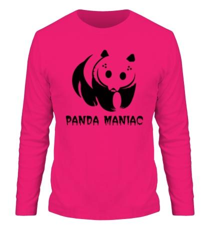 Мужской лонгслив Панда маньяк