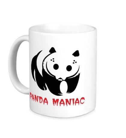 Керамическая кружка Панда маньяк