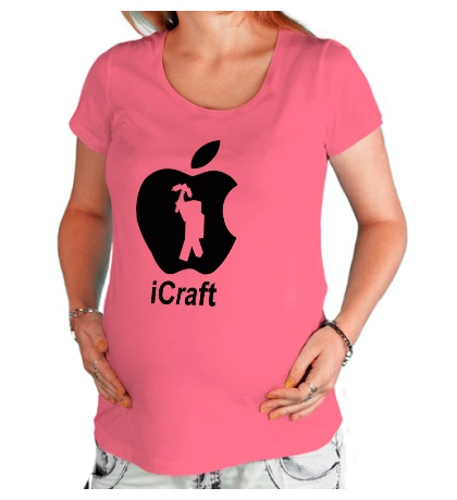 Футболка для беременной ICraft