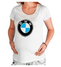 Футболка для беременной BMW