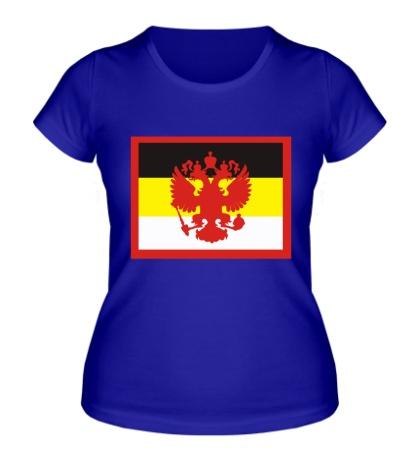 Женская футболка Имперский флаг