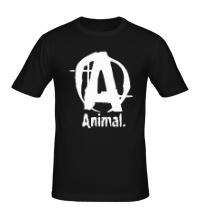 Мужская футболка Animal Logo