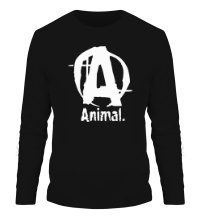 Мужской лонгслив Animal Logo