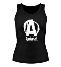Женская майка Animal Logo