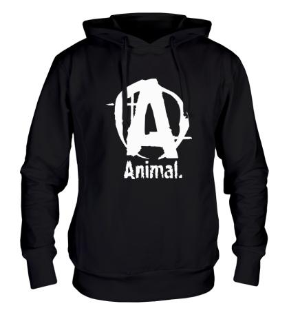 Толстовка с капюшоном Animal Logo