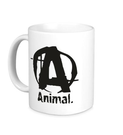 Керамическая кружка Animal Logo