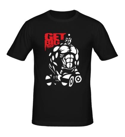 Мужская футболка Get big fast