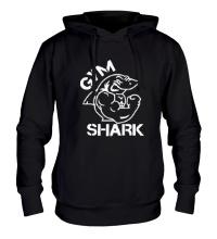Толстовка с капюшоном Gym Shark