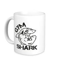 Керамическая кружка Gym Shark