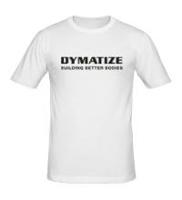 Мужская футболка Dymatize Building better bodies