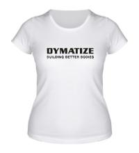 Женская футболка Dymatize Building better bodies
