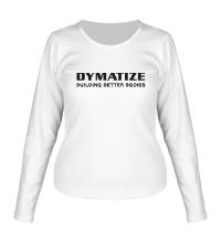 Женский лонгслив Dymatize Building better bodies