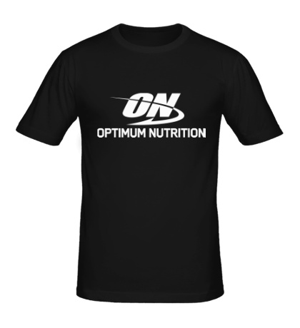 Мужская футболка Optimum nutrition