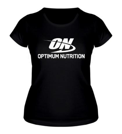 Женская футболка Optimum nutrition