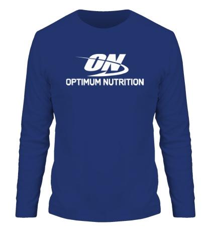 Мужской лонгслив Optimum nutrition
