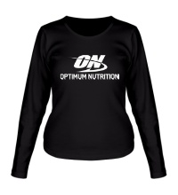 Женский лонгслив Optimum nutrition