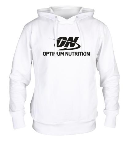 Толстовка с капюшоном Optimum nutrition
