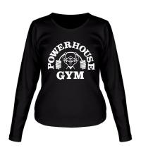 Женский лонгслив Power House Gym