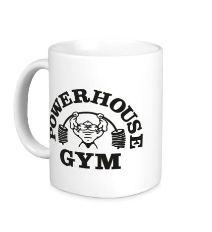 Керамическая кружка Power House Gym