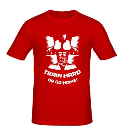 Мужская футболка Train hard or go home