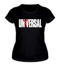 Женская футболка Universal nutrition