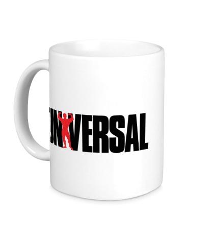 Керамическая кружка Universal nutrition