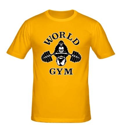 Мужская футболка World Gym